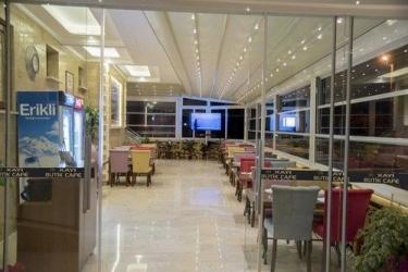 Hotel Kayi : Außen Abendessen FETHIYE