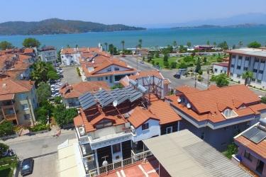Hotel Kayi : Blick vom Hotel FETHIYE