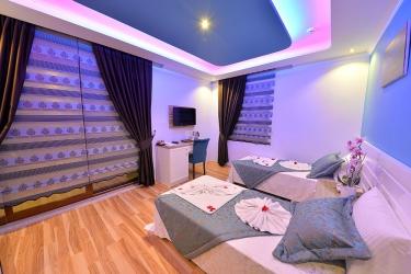 Hotel Kayi : Gastzimmer Blick FETHIYE