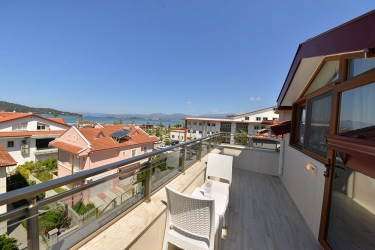 Hotel Kayi : Terrasse/Patio FETHIYE