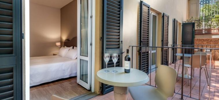 Hotel La Fortezza: Balcone FIRENZE