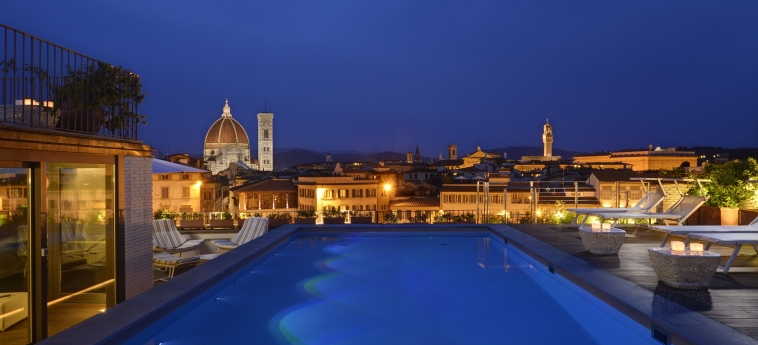 Grand Hotel Minerva: Terrace FLORENCE
