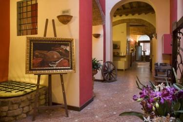 Hotel Porta Faenza: Lobby FLORENCIA