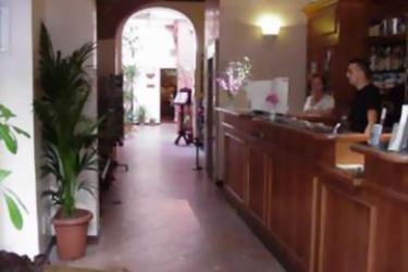 Hotel Porta Faenza: Recepción FLORENCIA