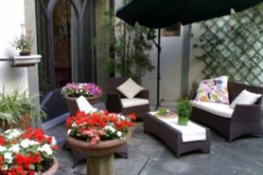 Hotel Palazzo Benci: Park FLORENZ
