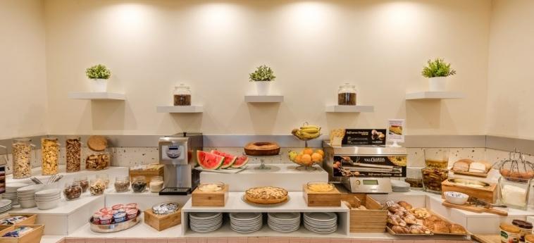Hotel La Fortezza: Buffet FLORENZ