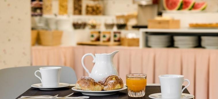 Hotel La Fortezza: Frühstück FLORENZ