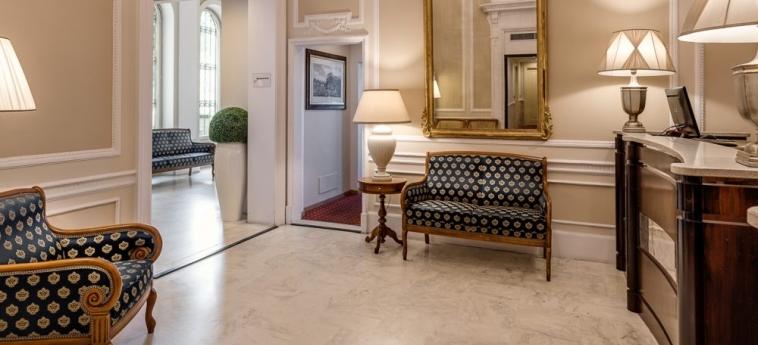 Hotel La Fortezza: Hotelhalle FLORENZ