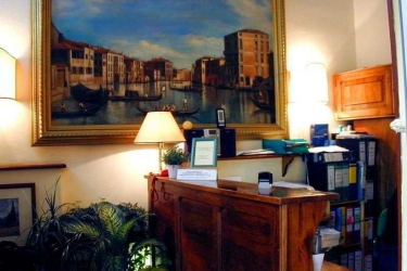Hotel Airone: Lobby FLORENZ