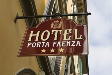 Hotel Porta Faenza: Außen FLORENZ