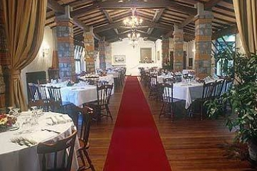 Hotel Villa Le Rondini: Bankettsaal FLORENZ