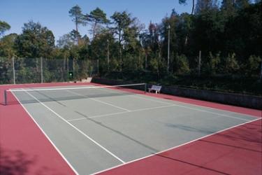 Hotel Villa Le Rondini: Tennisplatz FLORENZ