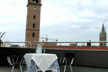 Hotel Masini: Terrasse FORLÌ