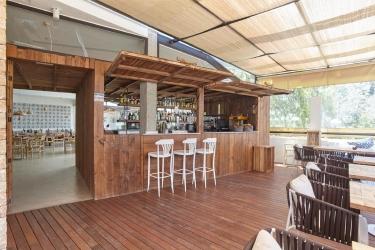 Hotel Apartamentos Castavi: Außen Bar FORMENTERA - BALEARISCHEN INSELN