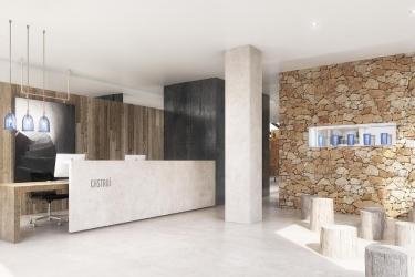 Hotel Apartamentos Castavi: Reception FORMENTERA - ILES BALEARES