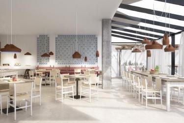 Hotel Apartamentos Castavi: Salle de Petit Déjeuner FORMENTERA - ILES BALEARES