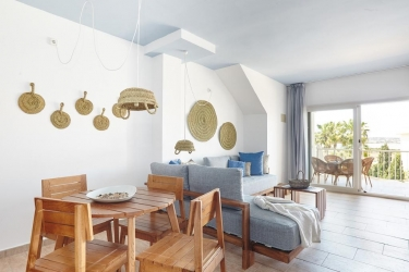 Hotel Apartamentos Castavi: Salotto FORMENTERA - ISLAS BALEARES