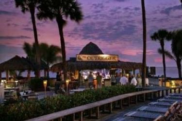 Hotel Outrigger Beach Resort: Bar FORT MYERS BEACH (FL)