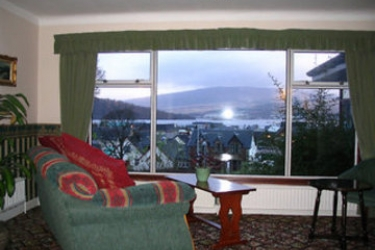 Guisachan House: Hotelhalle FORT WILLIAM