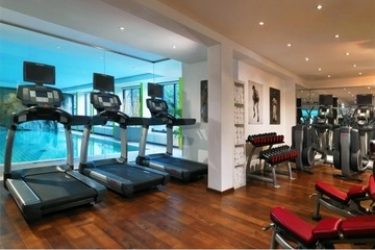 Hotel Crowne Plaza Frankfurt Congress: Salle de Gym FRANCFORT