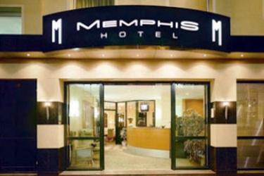Hotel Memphis: Entrada FRANCFORT