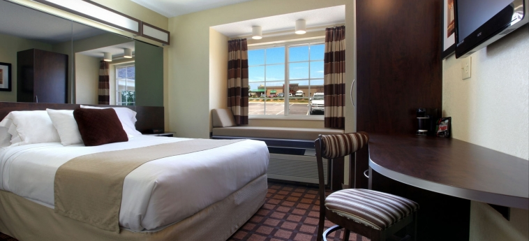 Hotel Microtel Inn & Suites By Wyndham Franklin: Chambre Double FRANKLIN (NC)