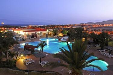 Hotel Kn Matas Blancas: Vue de l'Hotel FUERTEVENTURA - ILES CANARIES