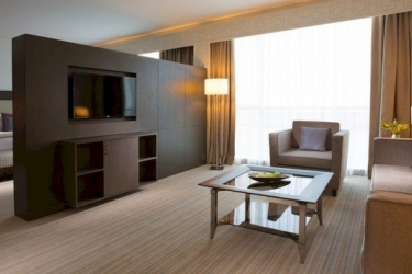 Hotel Royal M: Living Room FUJAIRAH
