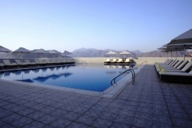 Concorde Hotel Fujairah By One To One: Außenschwimmbad FUJAIRAH