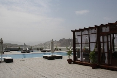 Concorde Hotel Fujairah By One To One: Terrasse FUJAIRAH