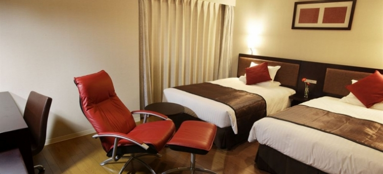 Hotel Mystays Fukuoka-Tenjin: Map FUKUOKA - FUKUOKA PREFECTURE