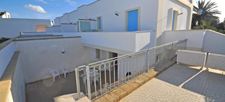 Hotel Residence Mare Blu: Terrasse GALLIPOLI - LECCE