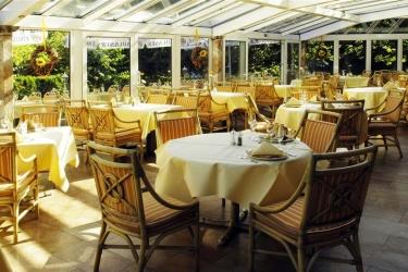 Riessersee Hotel Sport & Spa Resort: Restaurant GARMISCH - PARTENKIRCHEN