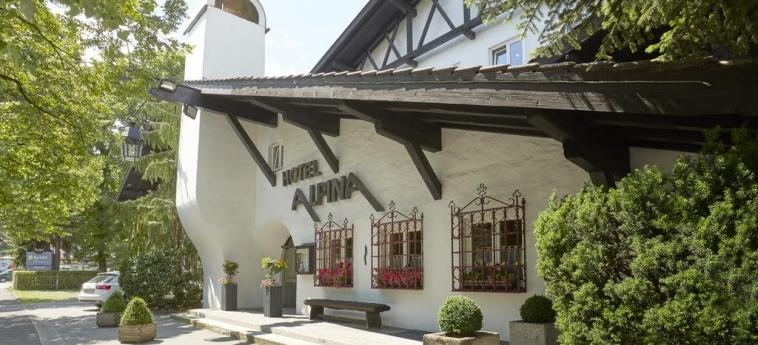 H+ Hotel Alpina Garmisch-Partenkirchen: Entrée GARMISCH - PARTENKIRCHEN