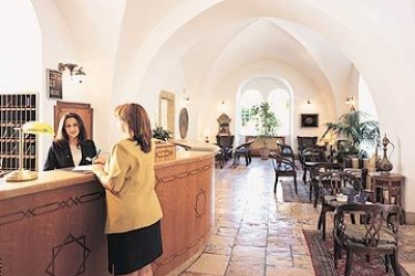 Hotel American Colony: Reception GERUSALEMME