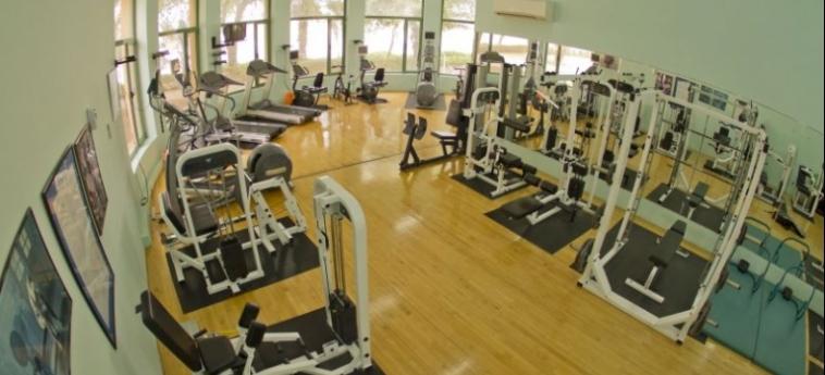 Golden Tulip Al Jazira Hotel And Resort: Fitnesscenter GHANTOOT