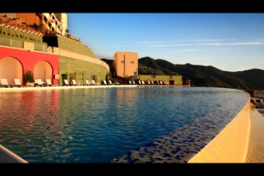 Hotel Avalon Sikani: Außenschwimmbad GIOIOSA MAREA - MESSINA