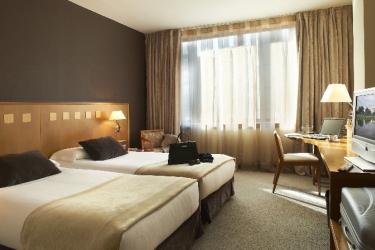 Hotel Carlemany : Schlafzimmer GIRONA