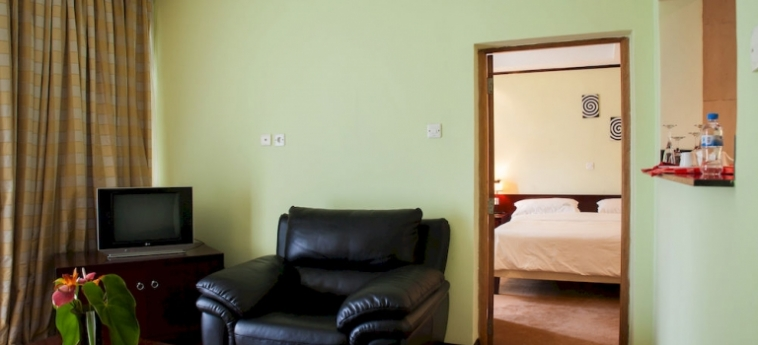 Gorillas Lake Kivu Hotel: Apartment Giunone GISENYI