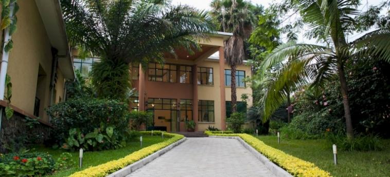 Gorillas Lake Kivu Hotel: Putting Green GISENYI