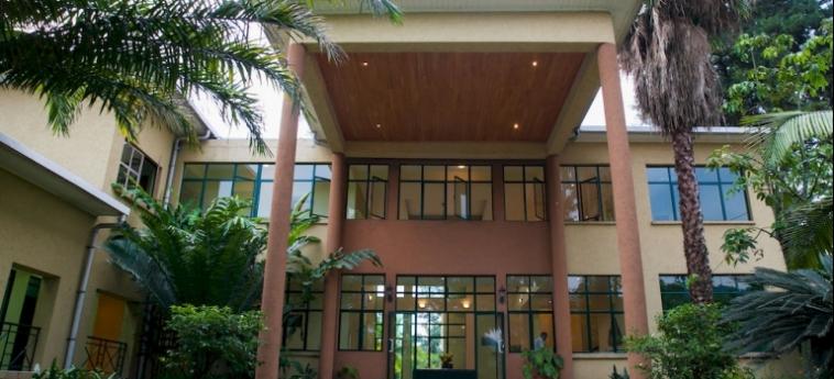 Gorillas Lake Kivu Hotel: Staircase GISENYI