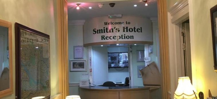 Hotel Smiths: Reception GLASGOW