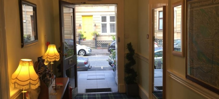 Hotel Smiths: Eingang GLASGOW