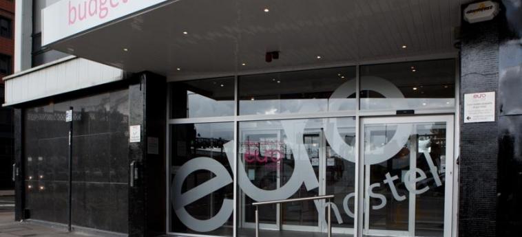 Euro Hostel Glasgow: Eingang GLASGOW