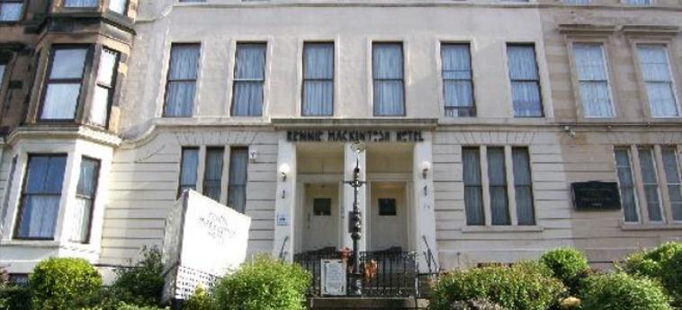 Hotel Rennie Mackintosh Art School: Außen GLASGOW