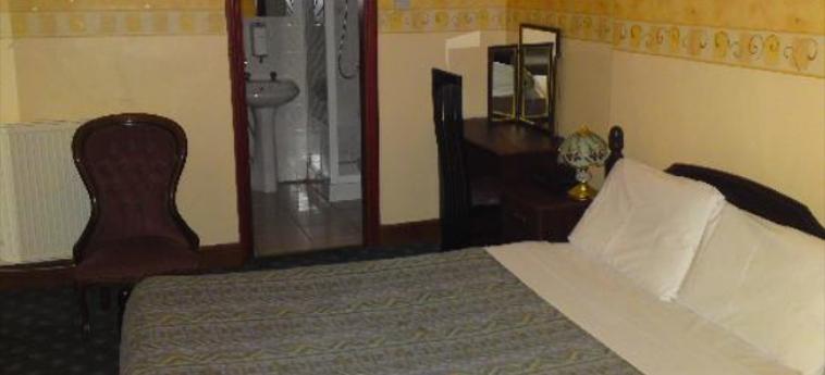 Hotel Rennie Mackintosh Art School: Schlafzimmer GLASGOW