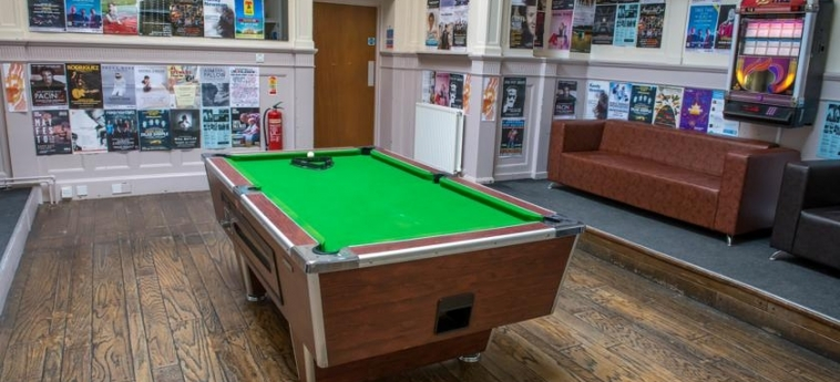 Glasgow Youth Hostel: Games Room GLASGOW