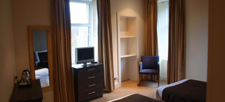 Hotel The Ivory: Twin Room GLASGOW