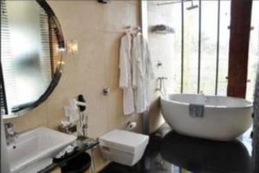 Hotel 360 Degree Beach Resort: Schlafzimmer GOA