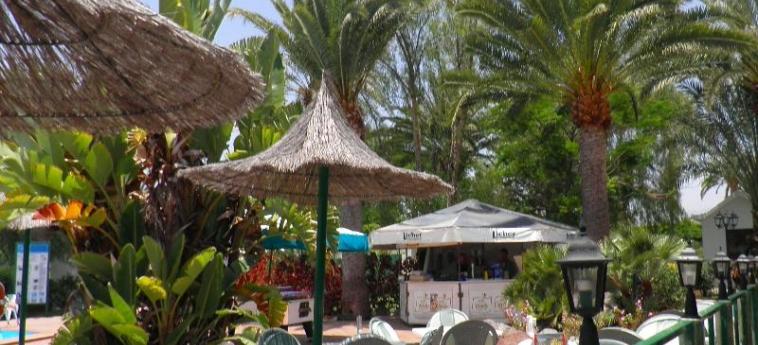 Hotel Canary Garden Club: Terrasse GRAN CANARIA - ILES CANARIES